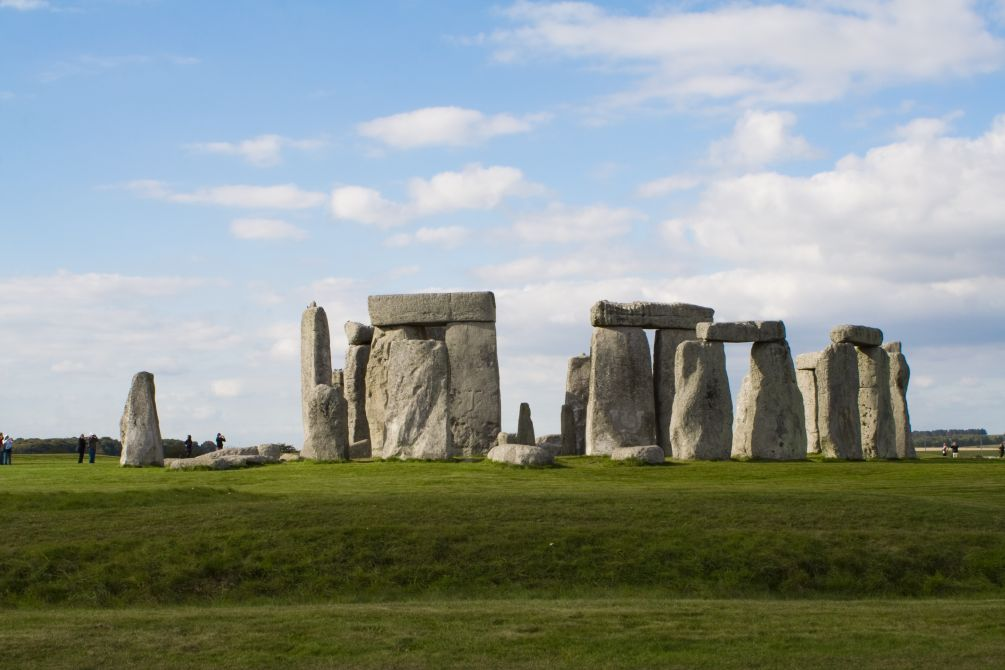 Stone Henge Trip for the Archaeological Society